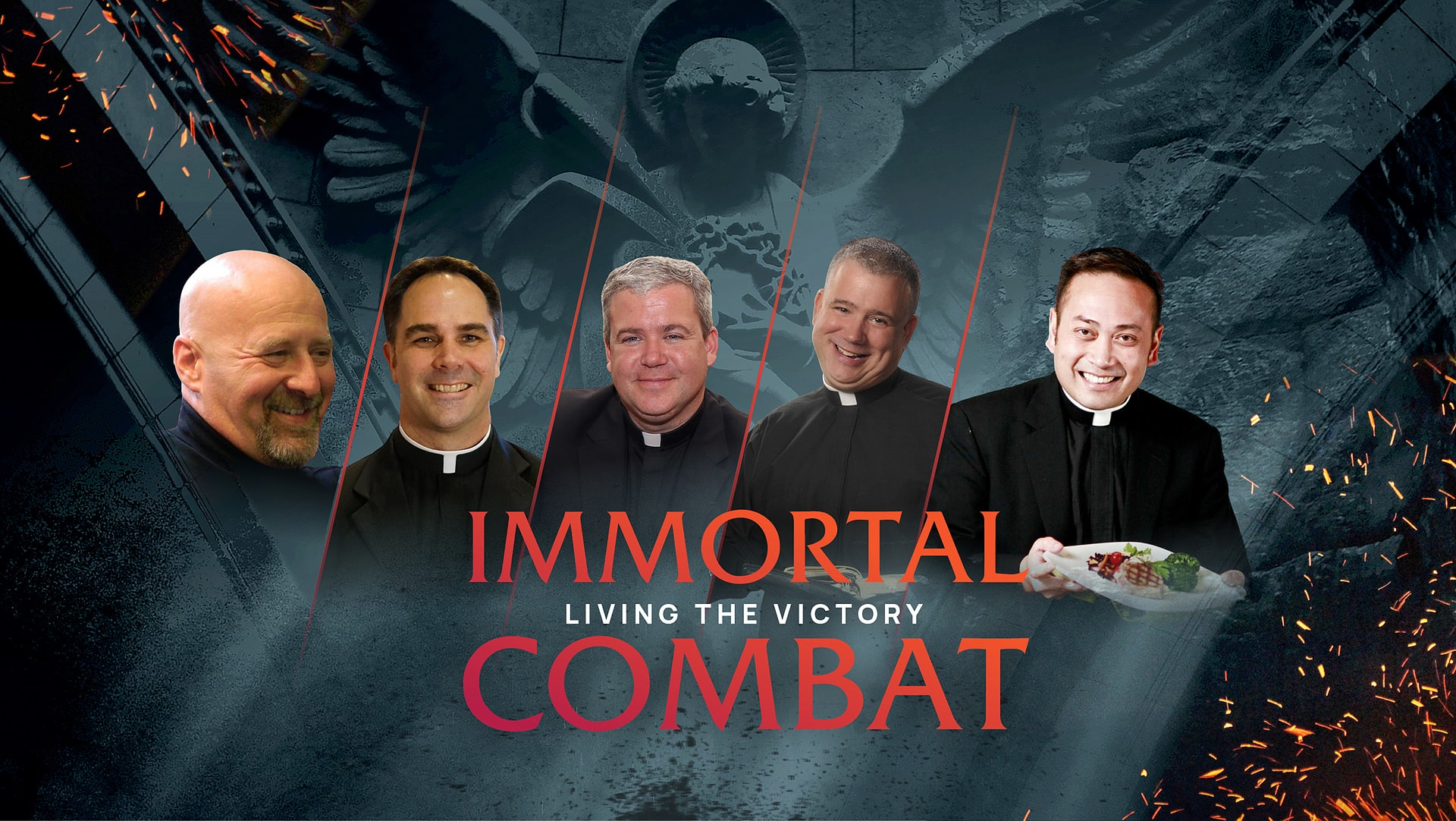 Meet the Priests of Immortal Combat