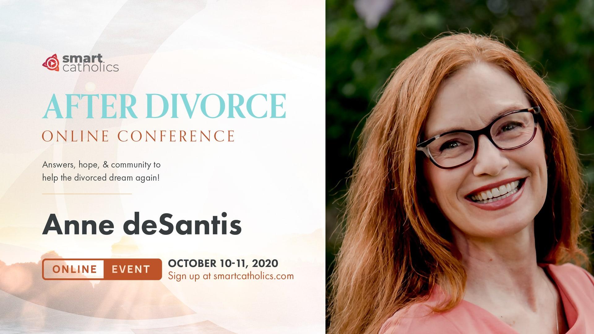 Anne deSantis - 'After Divorce' 2020 Conference