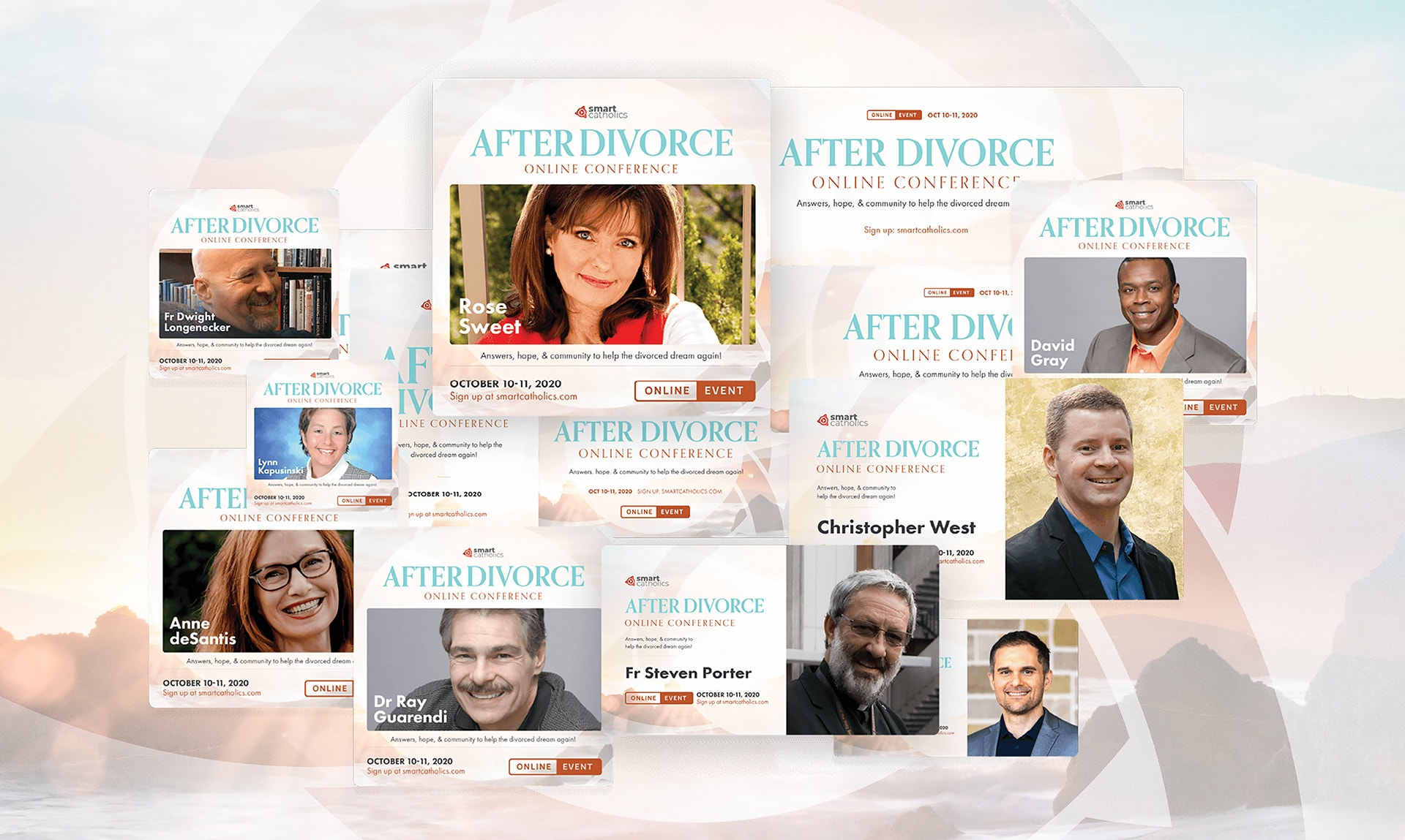 Meet the Speakers from the 'After Divorce' Online Conference
